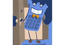 Maskot kalkulačka – poistenie domácnosti