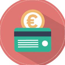 Platobná karta a minca – možnosti platby