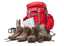 Turistický ruksak a topánky – strata alebo krádež batožiny