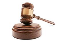 Súdnicke kladivko -  poistenie právnej ochrany