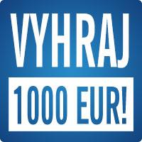 Logo súťaže – Vyhraj 1000 EUR!
