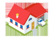 Rodinný dom s garážou – 1.príklad