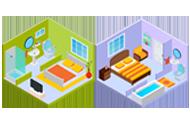 Pôdorys 2i bytu – 6.príklad