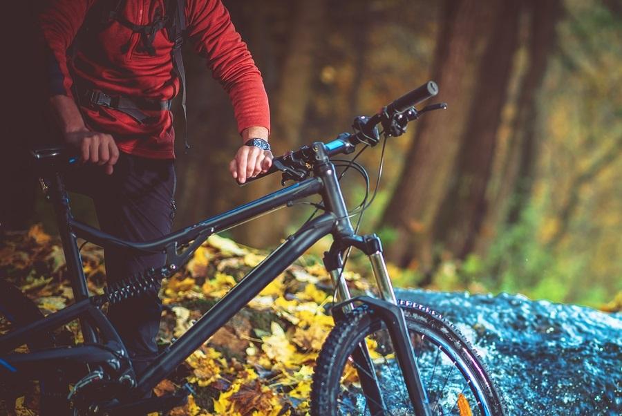 bicykel v prírode